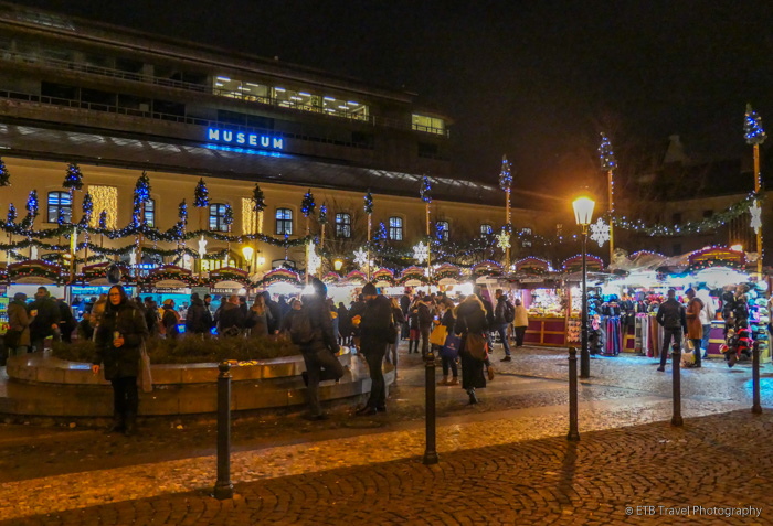 Chirstmas Market in Republic Square, Prague