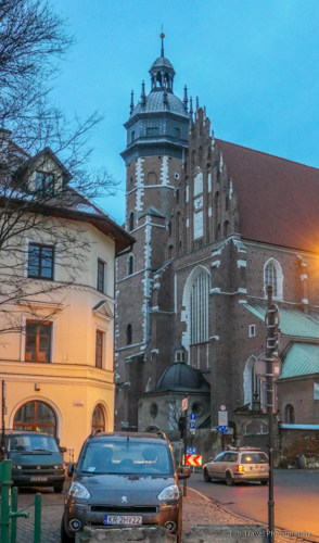 Corpus Christi Church in Krakow's Jewish Quarter