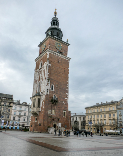 Town Hall Tower in Krakow's Old Town
