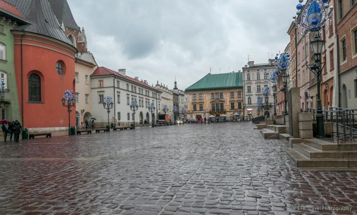 Rynek Maly in Krakow's Old Town