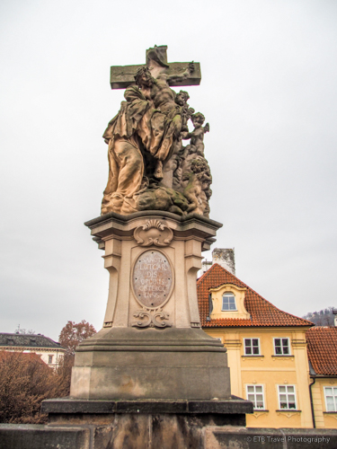 Statue on Charles Bridge, Prague