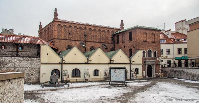 Old Synagogue in Krakow's Jewish Quarter