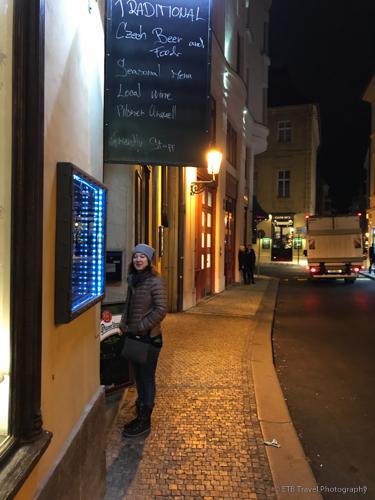 Nostalgie Restaurant in Prague