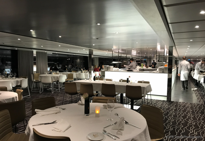 dining room on Danube River Cruise