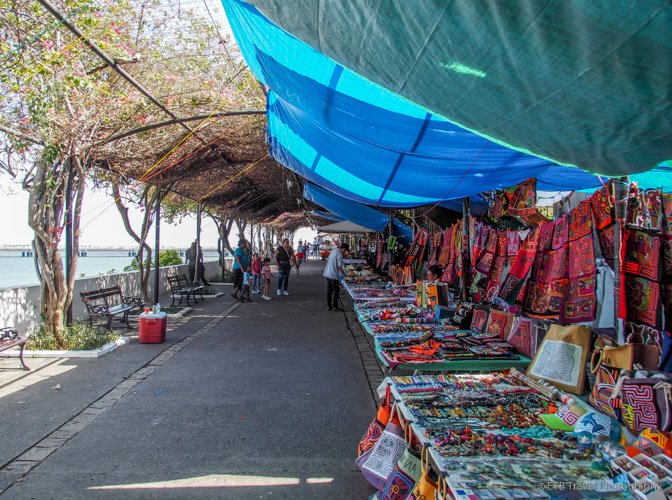 promenade in Panama City