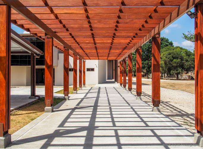 Museum at Panama Viejo in Panama City