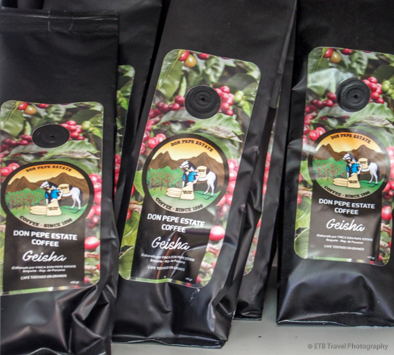 Don Pepe Coffee in Boquete