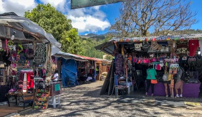 artisan market in boquete
