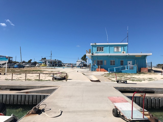 Ferry Terminal in Anguilla