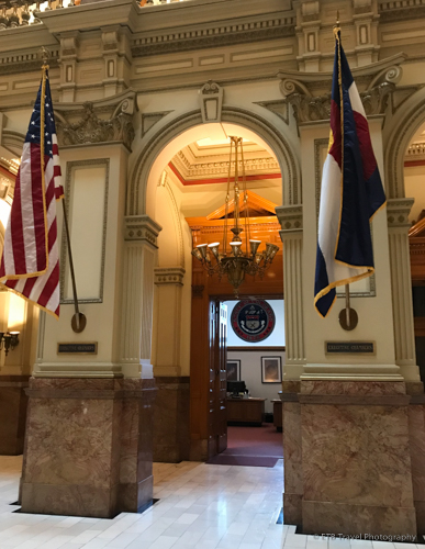 governor's office at the Colorado State Capitol