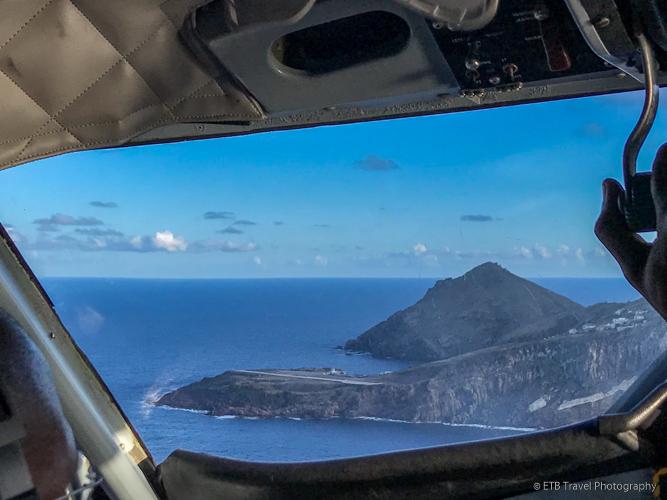 Saba's runway