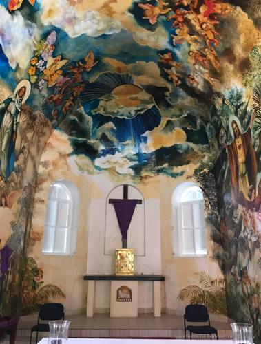 Mural in church