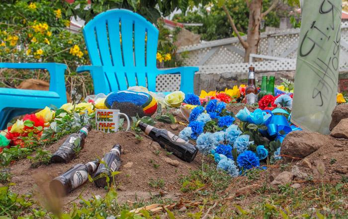 grave in Saba