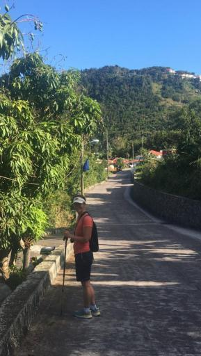 The Road in Saba