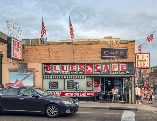 Blues city cafe in memphis