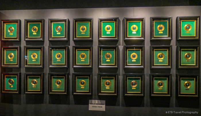 gold records at graceland