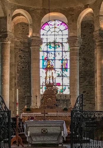 church in uzerche