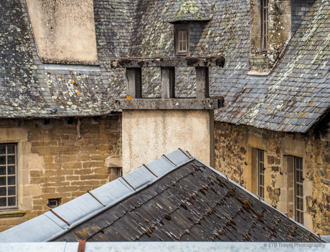 rooftop view of uzerche