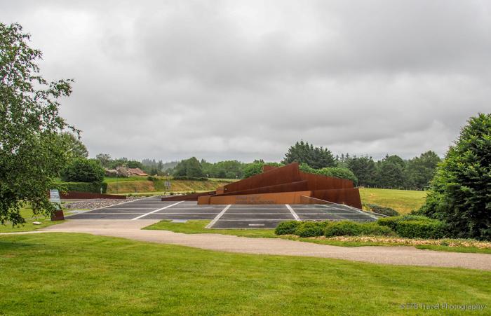 The Memorial building in Oradour-sur-Glane