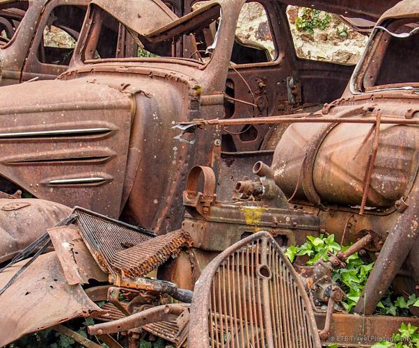 closeup of cars