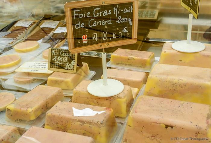 Foie Gras at the sarlat market