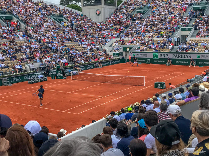 Fognini at the French Open