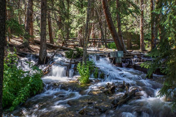 the creek on Burro Trail