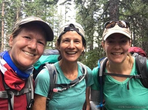 Beth, Tina and Diana at Wilson Summit
