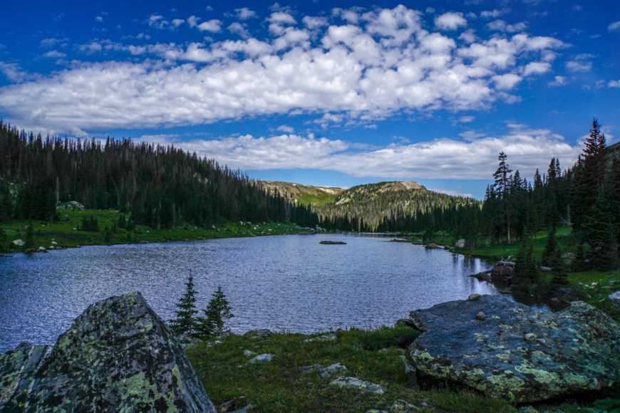 Timber Lake in Rocky Mountain National Park