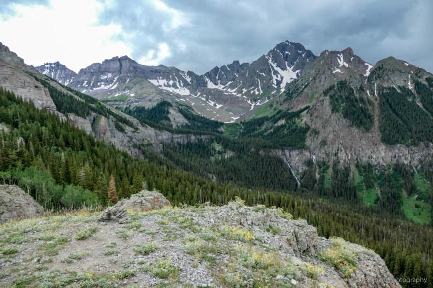 Wilson Summit view on the Sneffels Traverse
