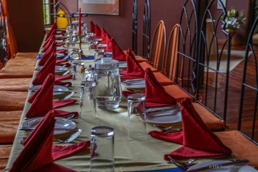 dining room at Macushla House