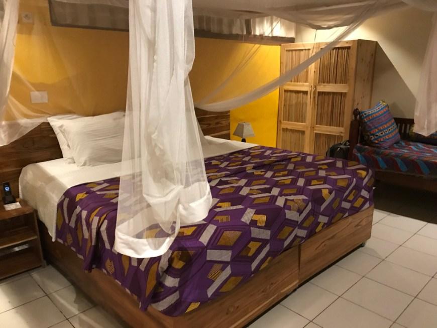 bedroom at Heaven hotel