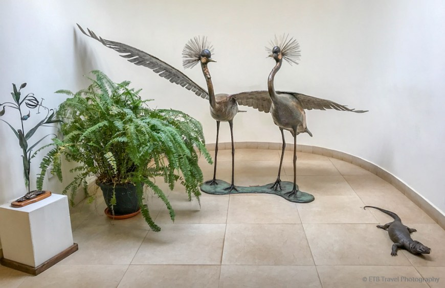 secretary birds at matbronze