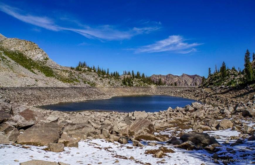 White Pine Lake in Little Cottonwood Canyon