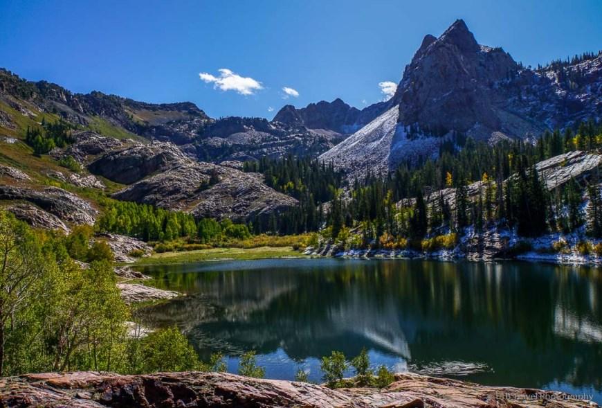 Lake Blanche near Salt Lake City