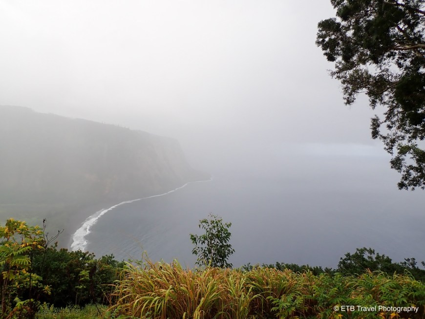 Waipi'o valley overlook on the Hamakua coast