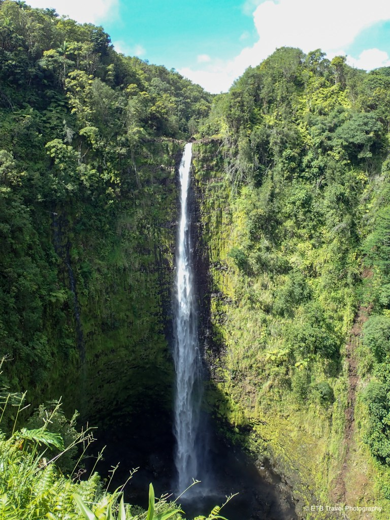 Akaka falls on Hamakua coast