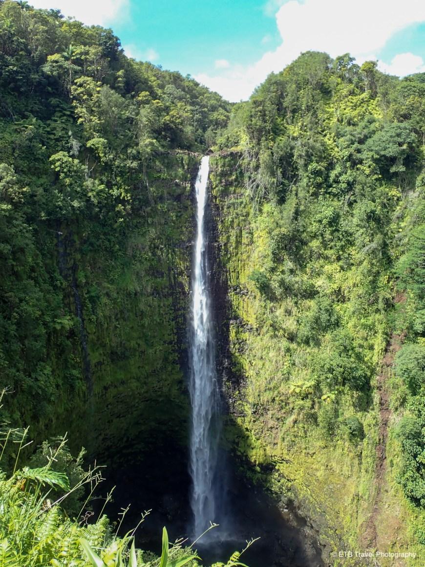 Akaka falls on Hamakua coast