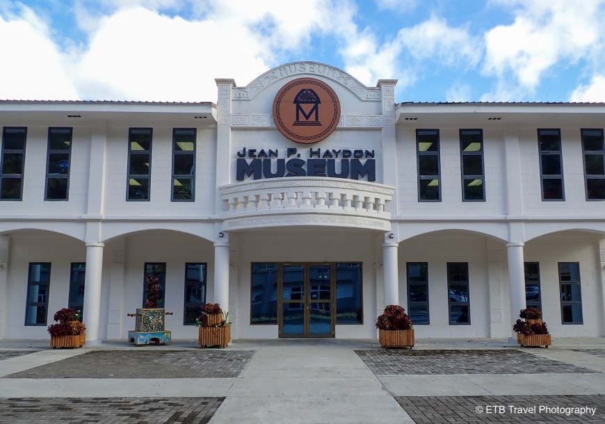 Jean p Haydon Museum in Pago Pago