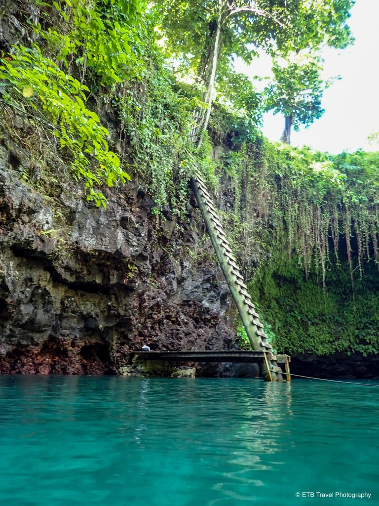 To Sua ocean trench on the southeastern coast of Upolu