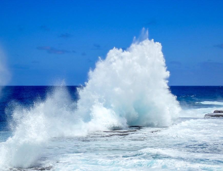 Blow Holes in Tonga