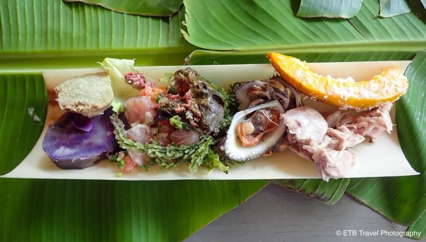 Sunday lunch at Oholei beach