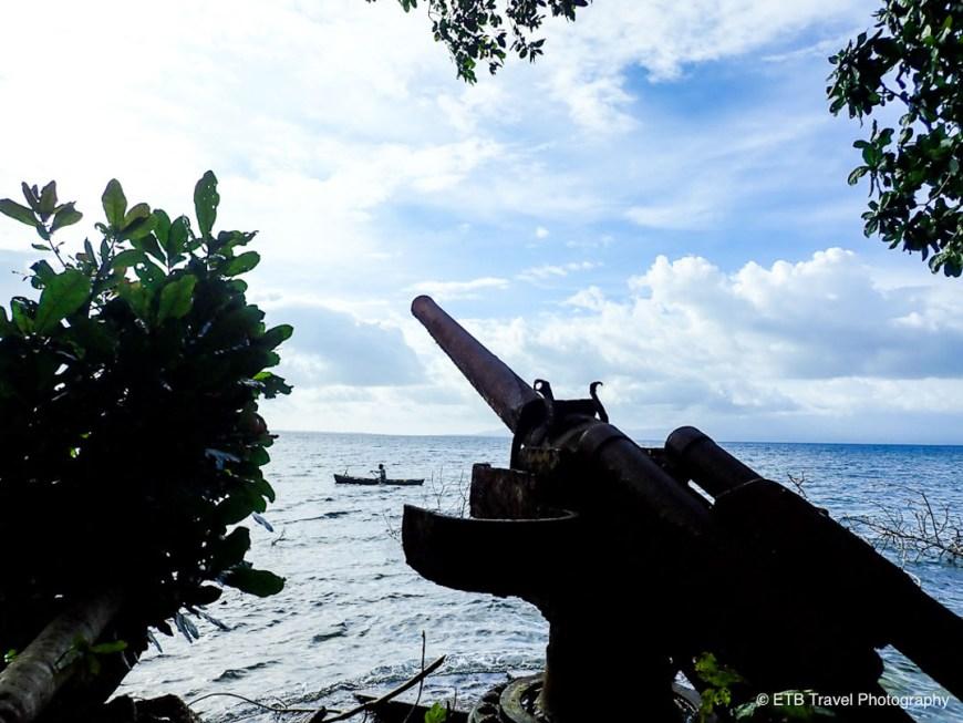 Japanese anti-aircraft gun