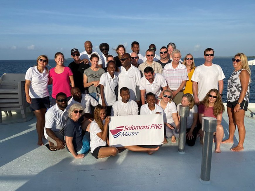 our group in the solomons