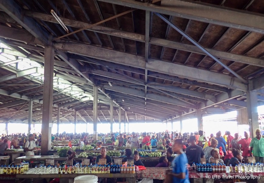 central market in honiara