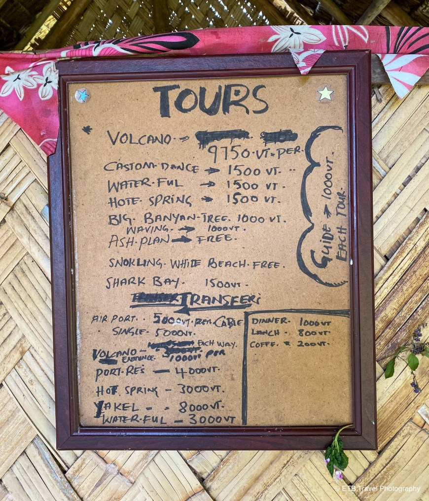 Tours in Tanna
