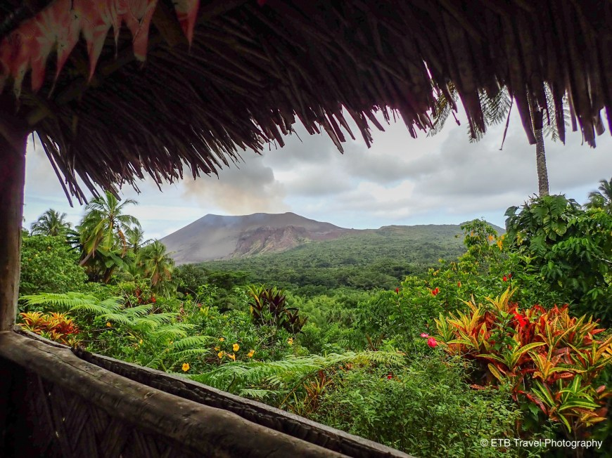 Volcano view in tanna