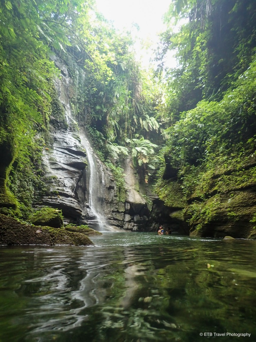 Amazing tropical canyon in Santo