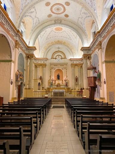 La Iglesia San Felipe Neri, one of five churches of casco viejo panama