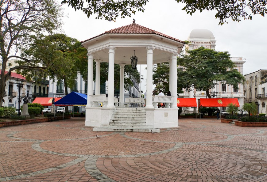 Independence Square in Casco Viejo